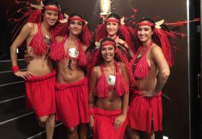 Les cinq danseuses de la troupe genevoise Mahora. DR