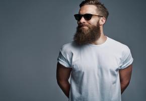 La barbe longue ne va pas à tout le monde.  GETTY IMAGES/UBERIMAGES
